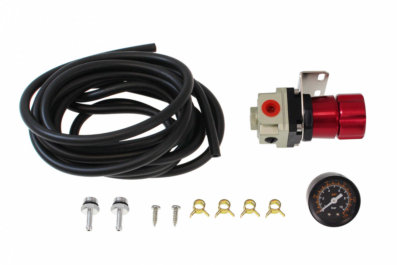 Zawór Manual Boost Controller TurboWorks BC02 Red - GRUBYGARAGE - Sklep Tuningowy